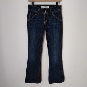 Hudson Fine Tailored Jeans Dark Wash Denim